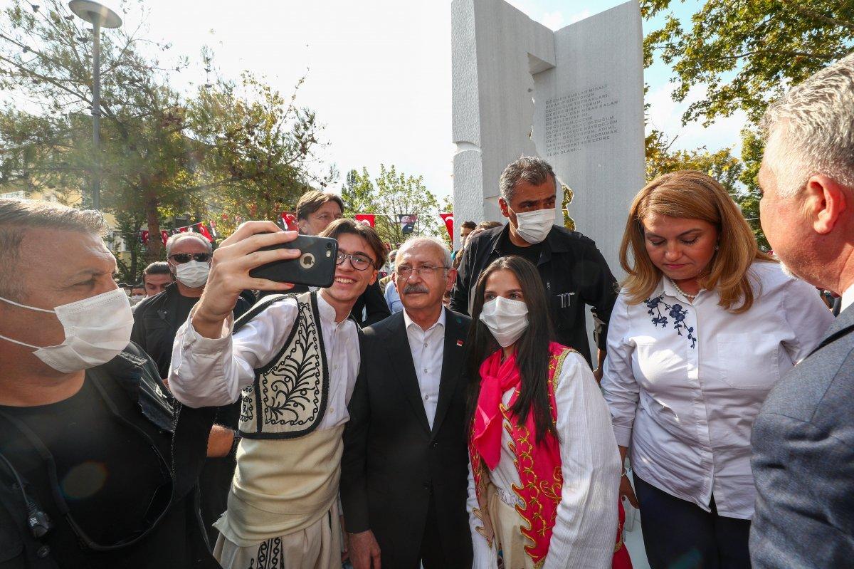 Kemal Kılıçdaroğlu, Lüleburgaz da Balkan Göç Anıtı nın açılışını yaptı #5