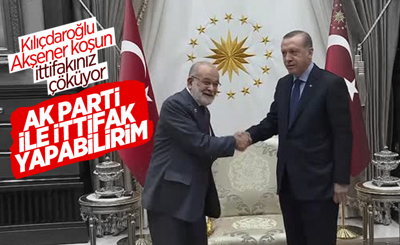 Temel Karamollaoğlu, Cumhur İttifakı'na katılma şartlarını açıkladı