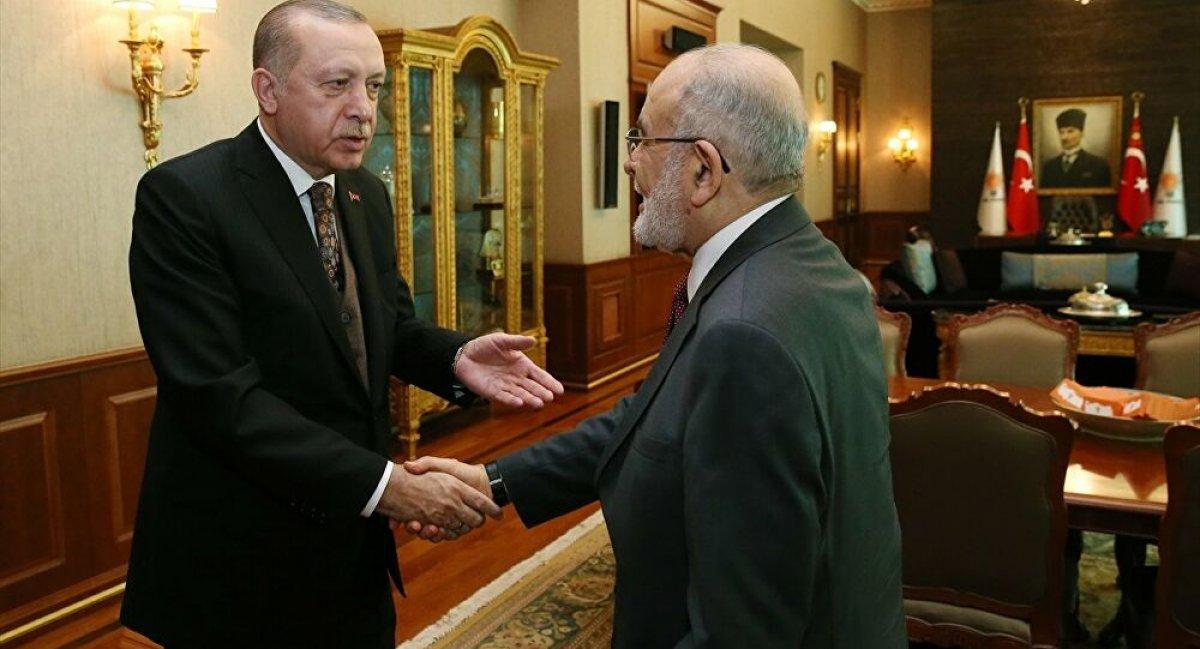 Temel Karamollaoğlu ndan Cumhur İttifakı açıklaması #1