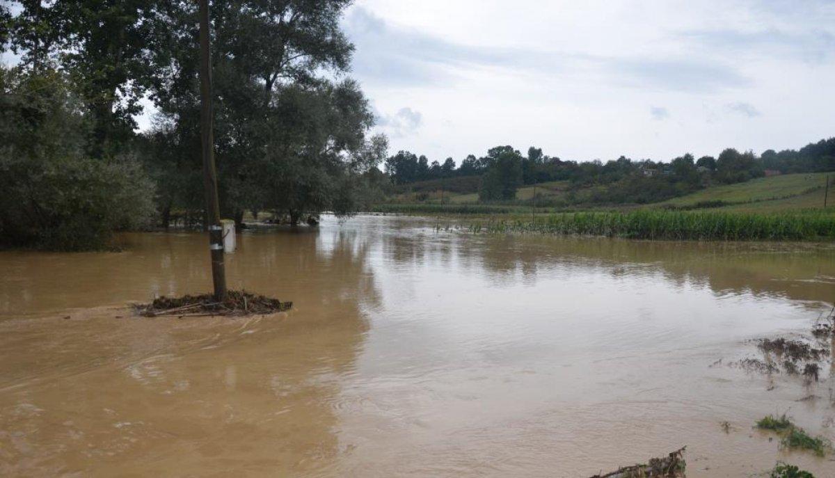 Sağanak yağış, birçok ilde su baskınlarına neden oldu #6