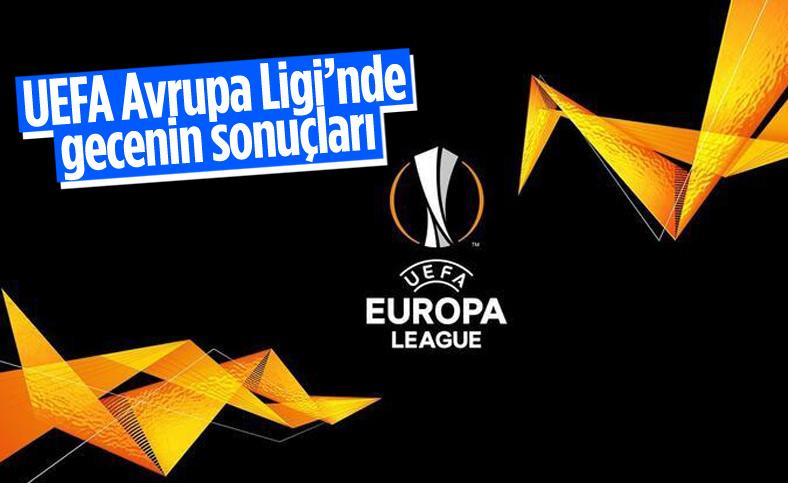 UEFA Avrupa Ligi'nde ilk haftanın maçları tamamlandı