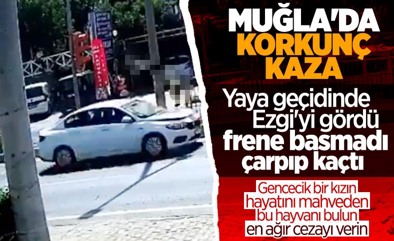 Bodrum'da 18 yaşındaki genç kıza çarpıp kaçtı