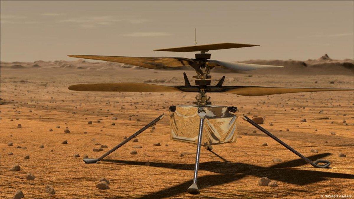 Çin, süpersonik Mars drone u geliştiriyor #1