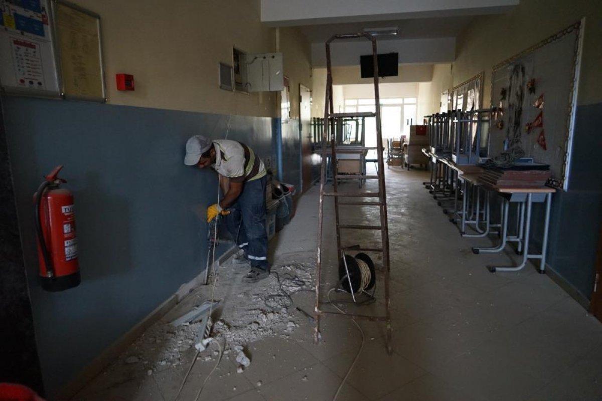 Kastamonu da selden etkilenen Bozkurt'ta okullar açılıyor #1