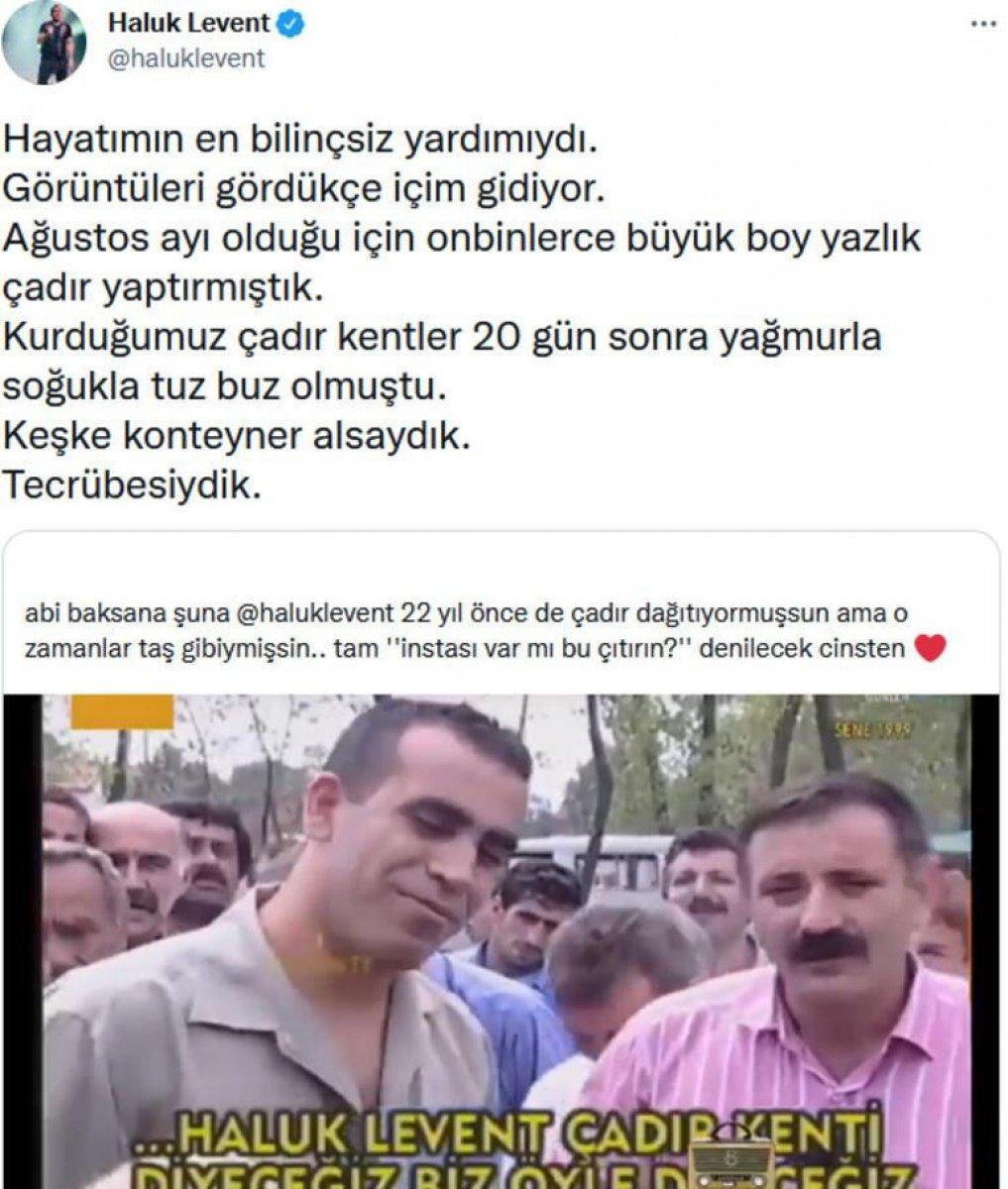 Haluk Levent, 22 yıl sonra itiraf etti #1