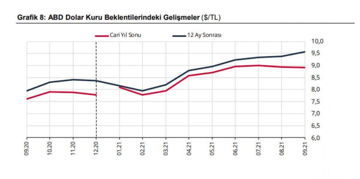 Merkez Bankası yıl sonu enflasyon ve dolar tahminini açıkladı #4