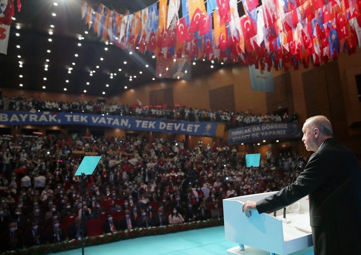 Cumhurbaşkanı Erdoğan ın, AK Parti Mersin Genişletilmiş İl Danışma Toplantısı ndaki konuşması #4