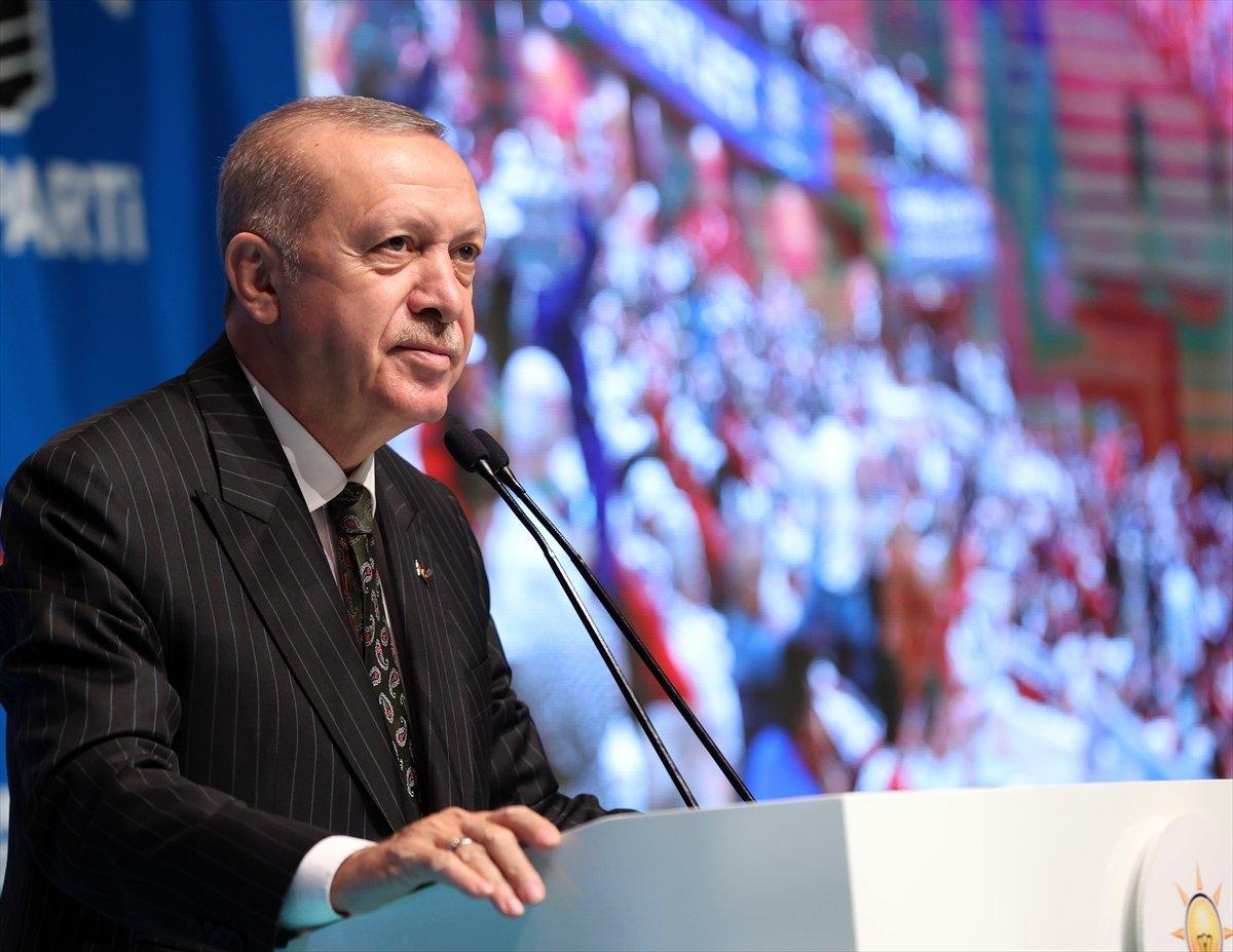 Cumhurbaşkanı Erdoğan ın, AK Parti Mersin Genişletilmiş İl Danışma Toplantısı ndaki konuşması #3