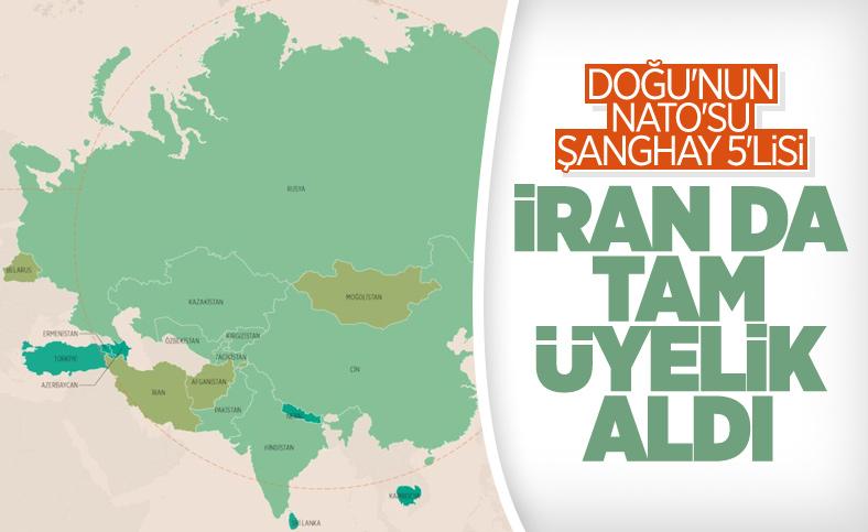 İran, Şanghay İşbirliği Örgütü'nün tam üyesi oldu