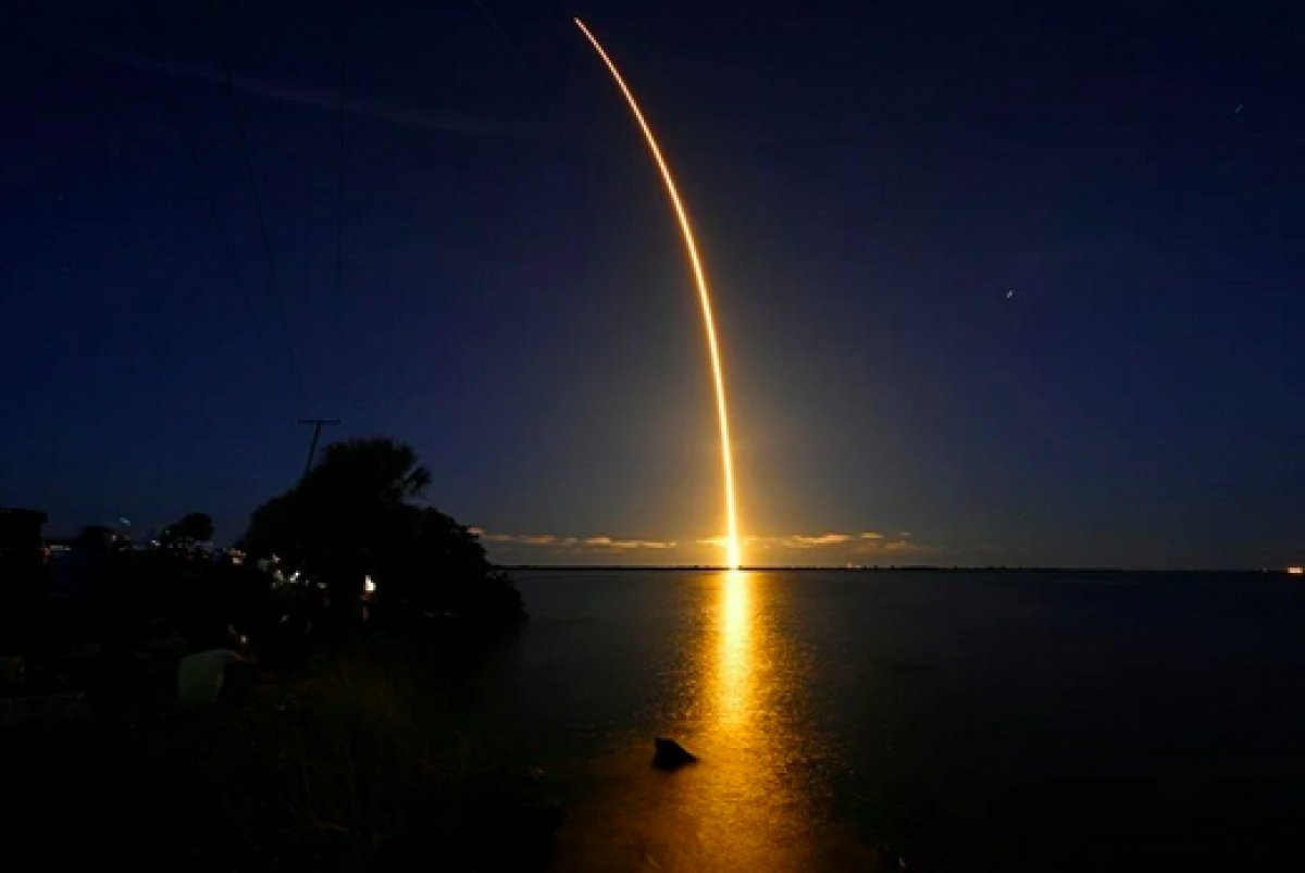 SpaceX in 4 amatör astronotundan ilk görüntüler paylaşıldı #3