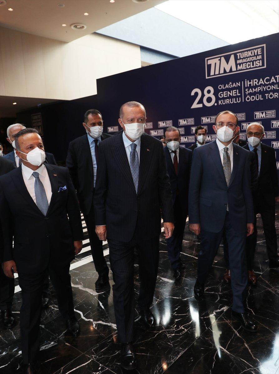 Cumhurbaşkanı Erdoğan, TİM Genel Kurulu'na katıldı  #6