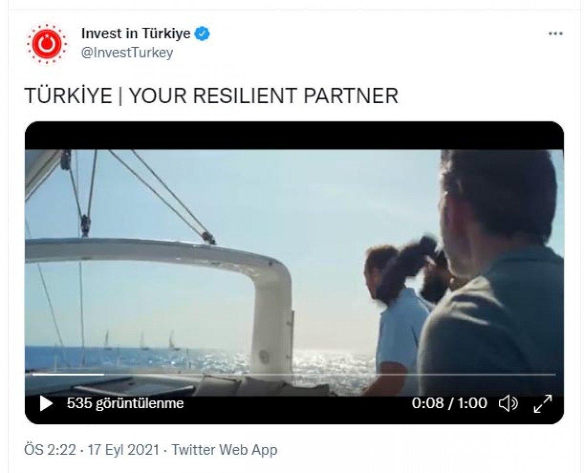 Cumhurbaşkanlığı ndan yabancı yatırımcı için reklam filmi #1