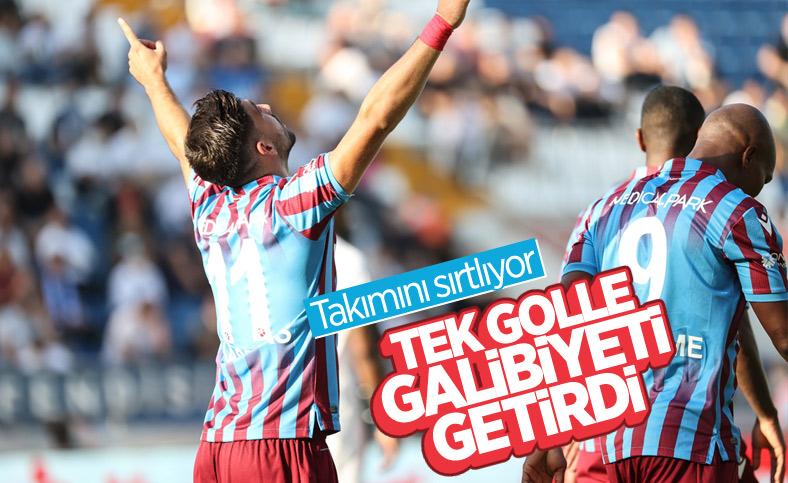 Trabzonspor 3 puanı Bakasetas'la aldı
