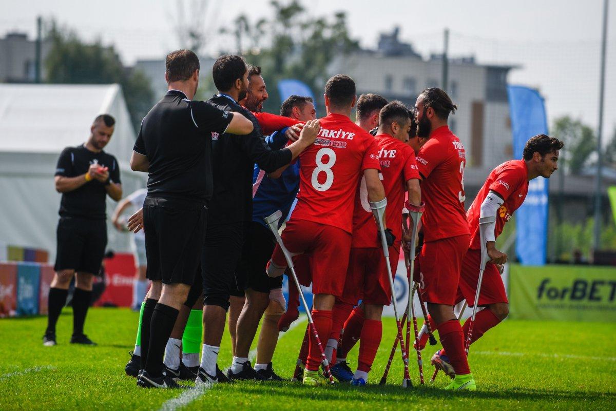Ampute Milli Takımımız Rusya yı yenerek finale yükseldi #1