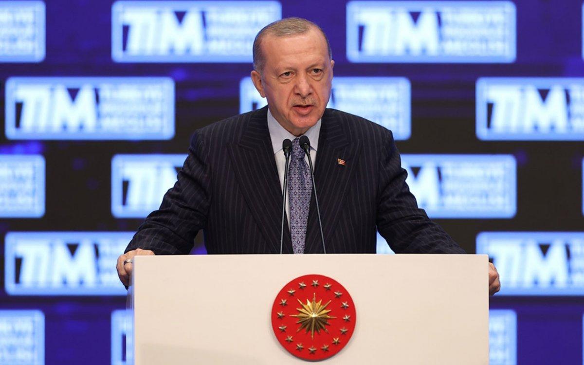 Cumhurbaşkanı Erdoğan: İhracatı Geliştirme Fonu oluşturuyoruz #1