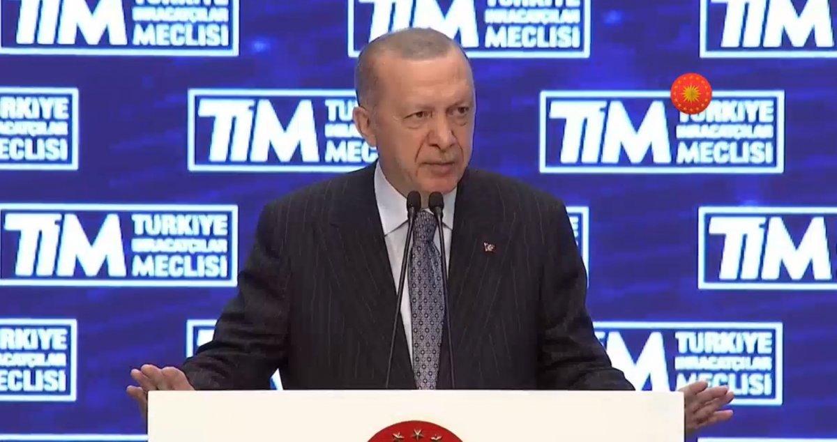 Cumhurbaşkanı Erdoğan, TİM Genel Kurulu'na katıldı  #2