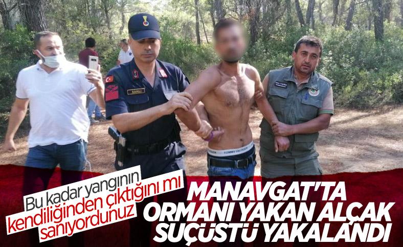 Antalya'da orman yangını girişiminde bulunan şahıs yakalandı