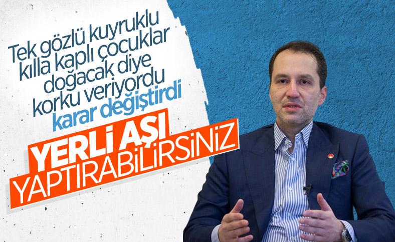 Fatih Erbakan: Son çare TURKOVAC tercih edilebilir