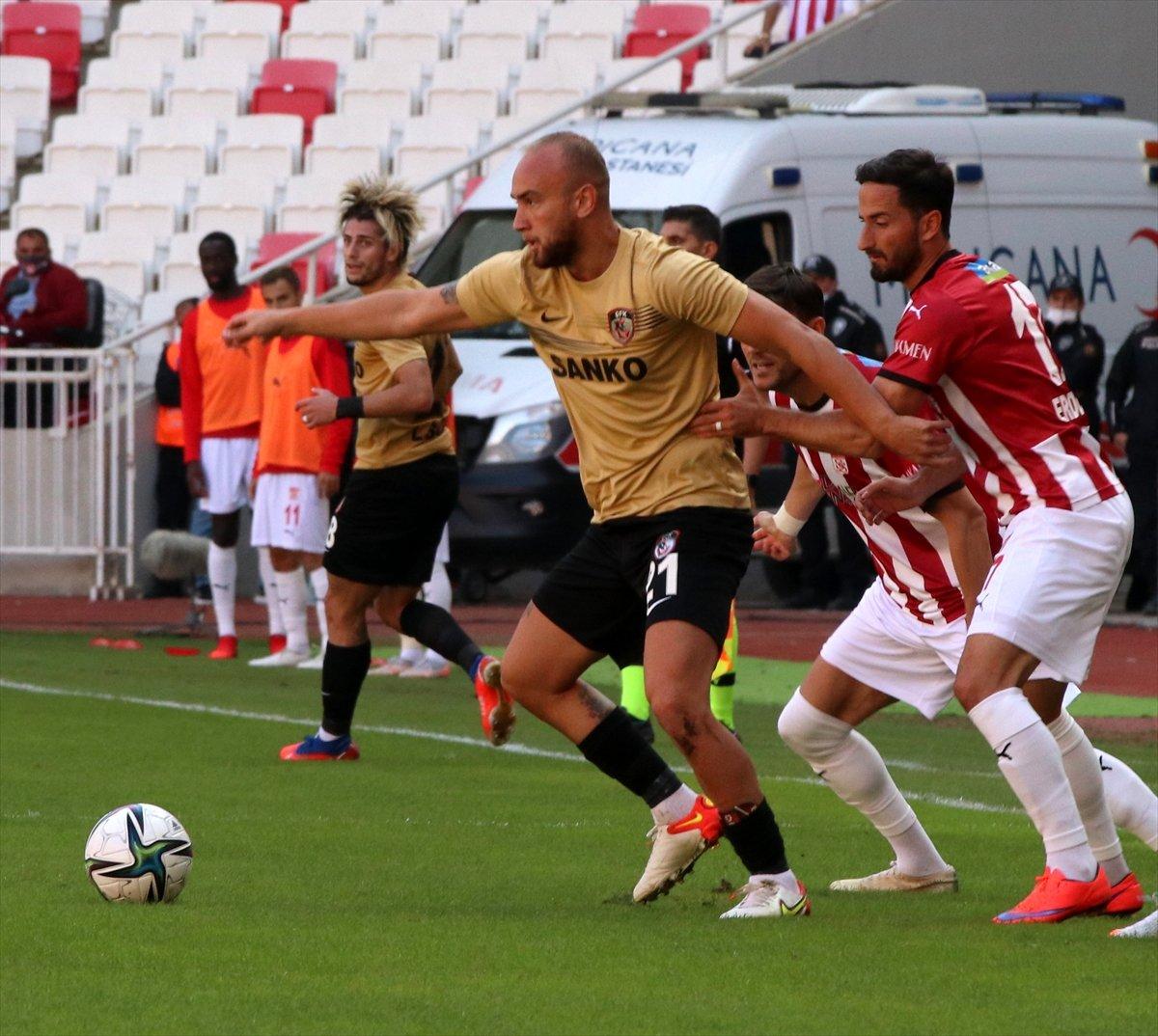 Sivasspor, Gaziantep FK ile berabere kaldı #1