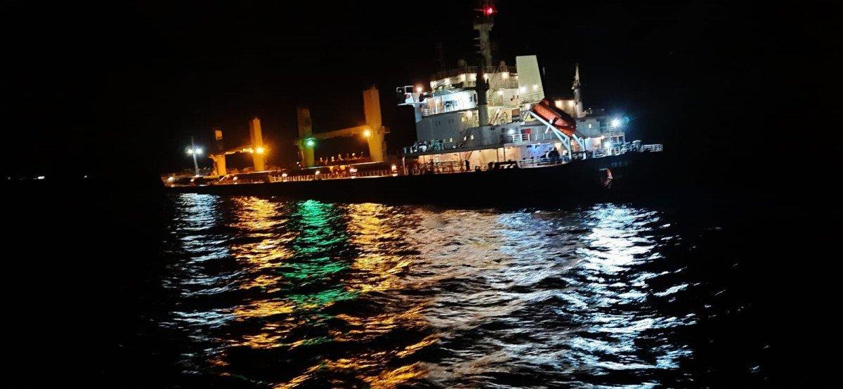 Bozcaada açıklarında 2 gemi çarpıştı #3