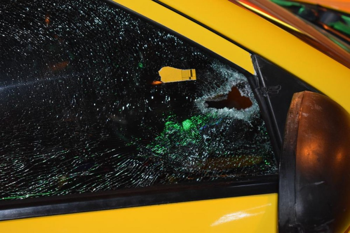 Malatya da husumetli olduğu arkadaşına taksinin içinde ateş açtı #6