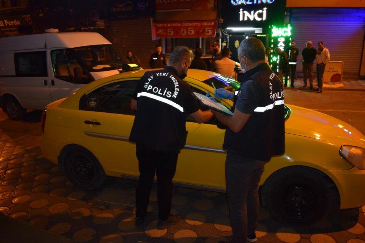 Malatya da husumetli olduğu arkadaşına taksinin içinde ateş açtı #5