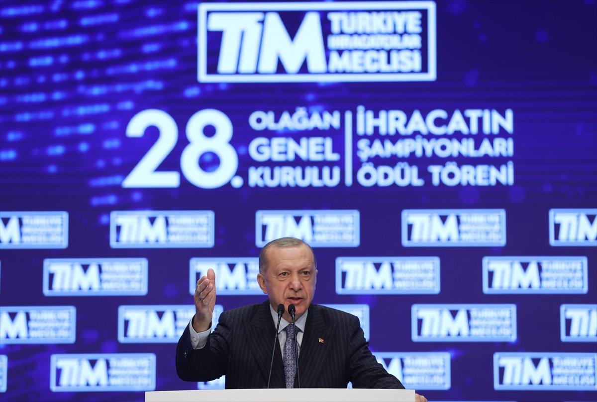 Cumhurbaşkanı Erdoğan, TİM Genel Kurulu'na katıldı  #3