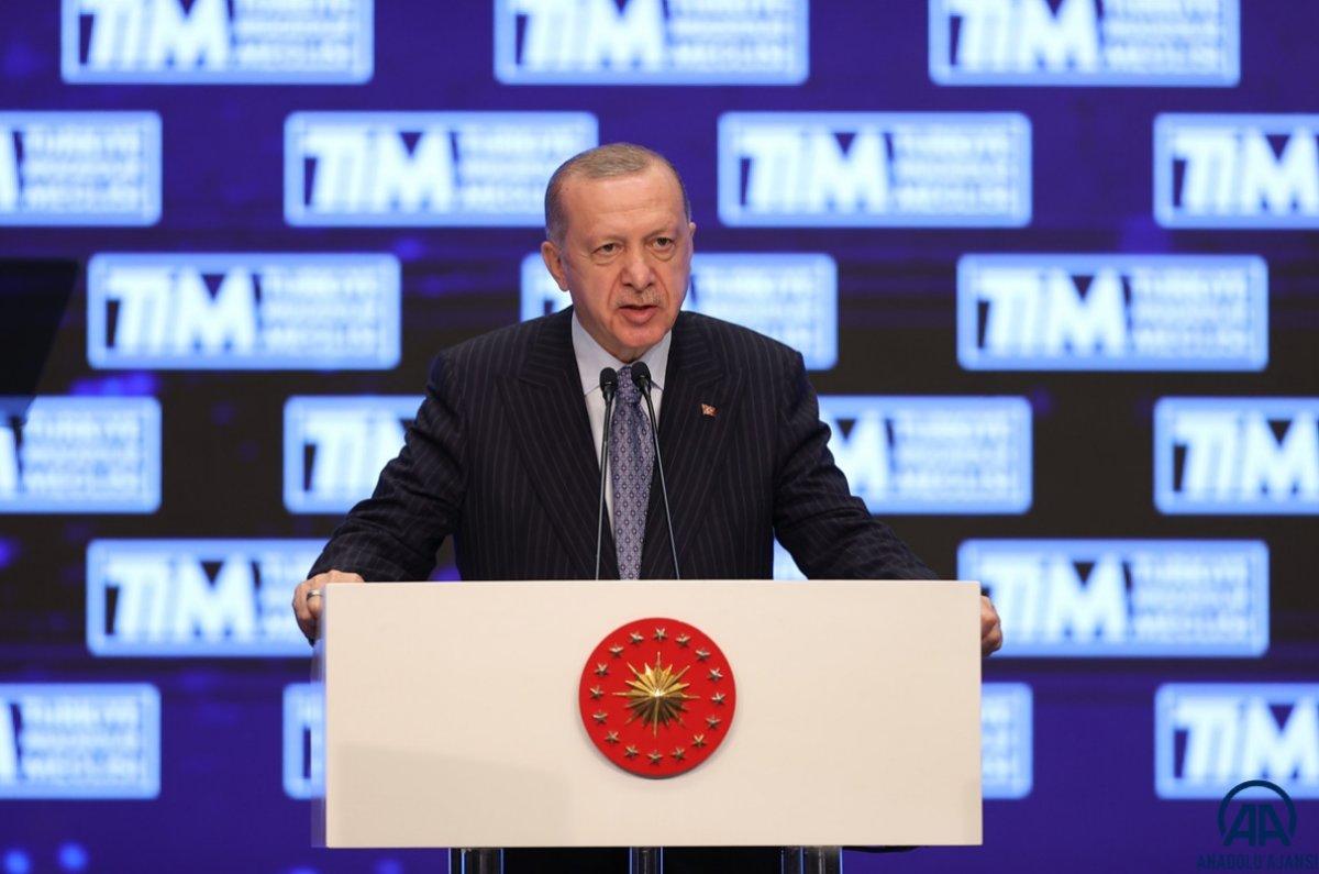 Cumhurbaşkanı Erdoğan, TİM Genel Kurulu'na katıldı  #1