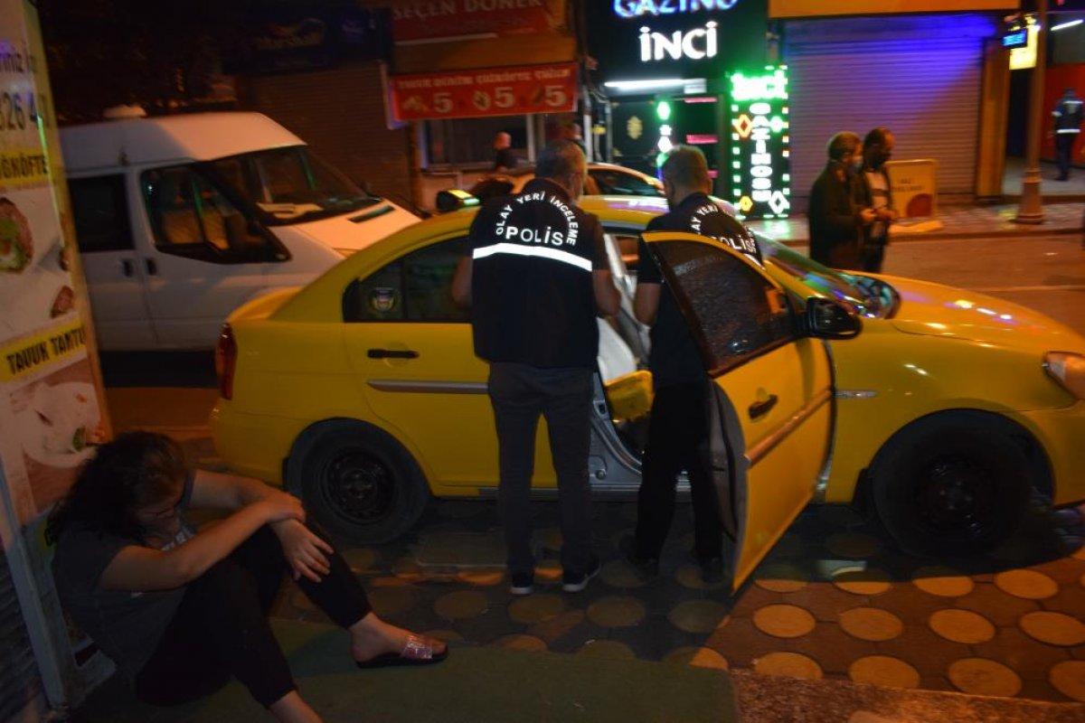 Malatya da husumetli olduğu arkadaşına taksinin içinde ateş açtı #2