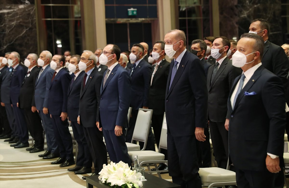 Cumhurbaşkanı Erdoğan, TİM Genel Kurulu'na katıldı  #4