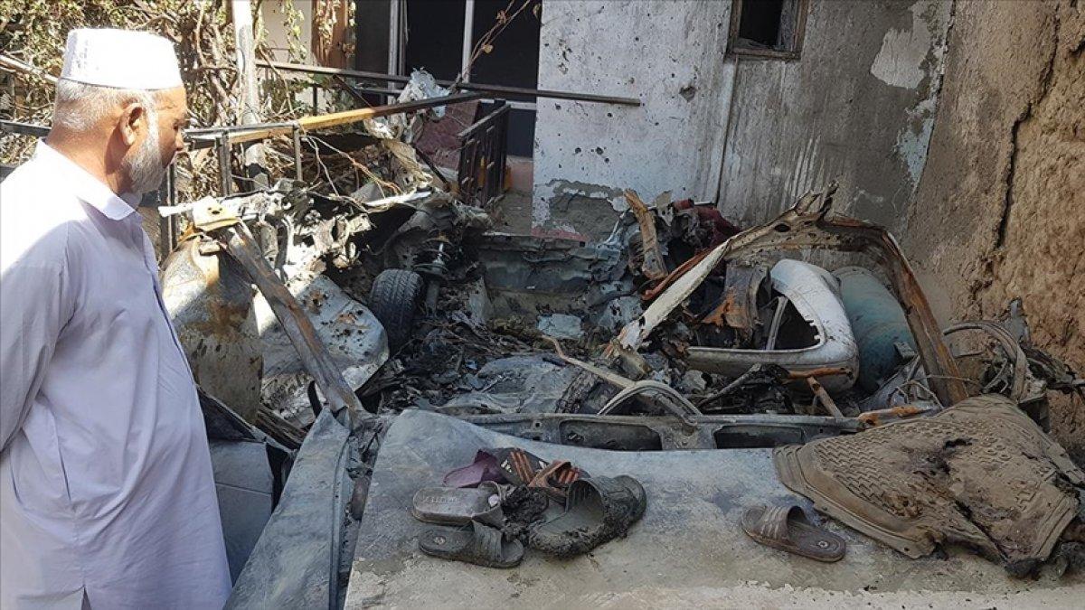 ABD ordusu ve istihbaratı, Kabil de 10 sivilin öldüğü saldırıdan birbirlerini sorumlu tuttu #4