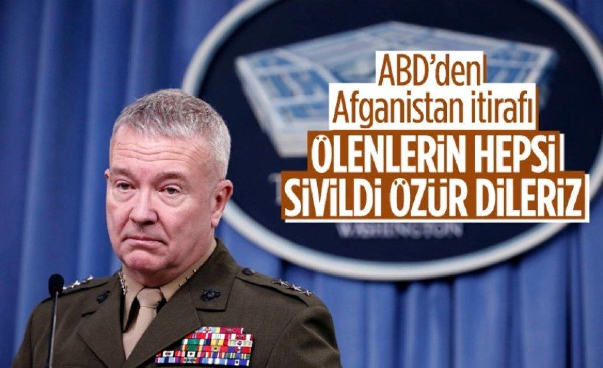 ABD ordusu ve istihbaratı, Kabil de 10 sivilin öldüğü saldırıdan birbirlerini sorumlu tuttu #7