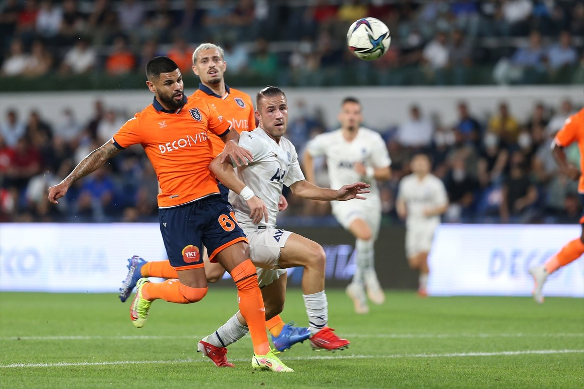 Başakşehir, Fenerbahçe yi iki golle geçti #2