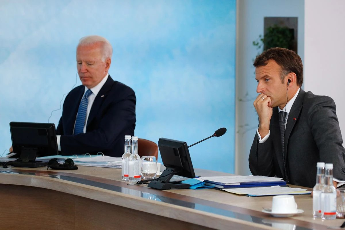 Fransa, ABD ve Avustralya yı  eski ortak  diye nitelendirdi #1
