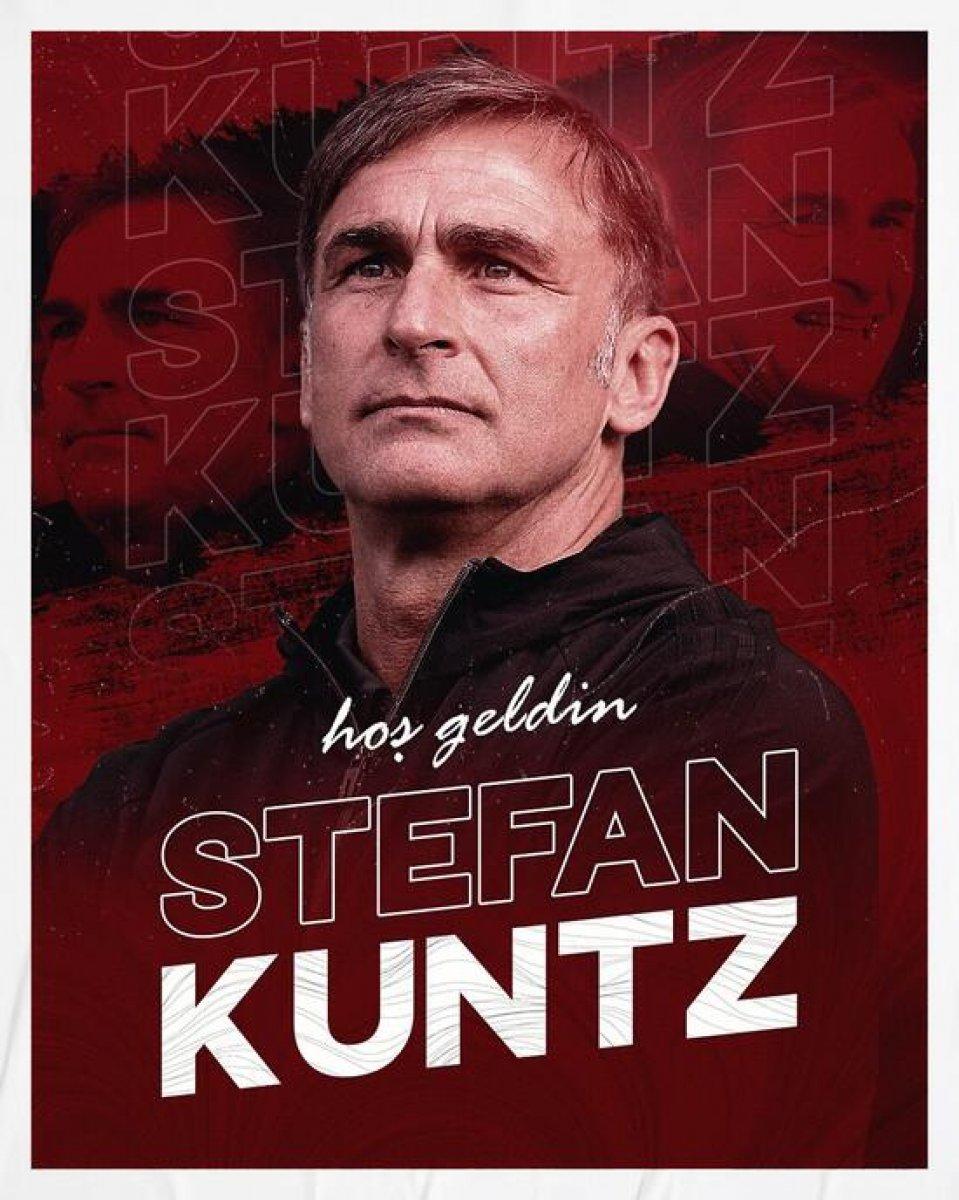 A Milli Takım ın yeni teknik direktörü Stefan Kuntz #1
