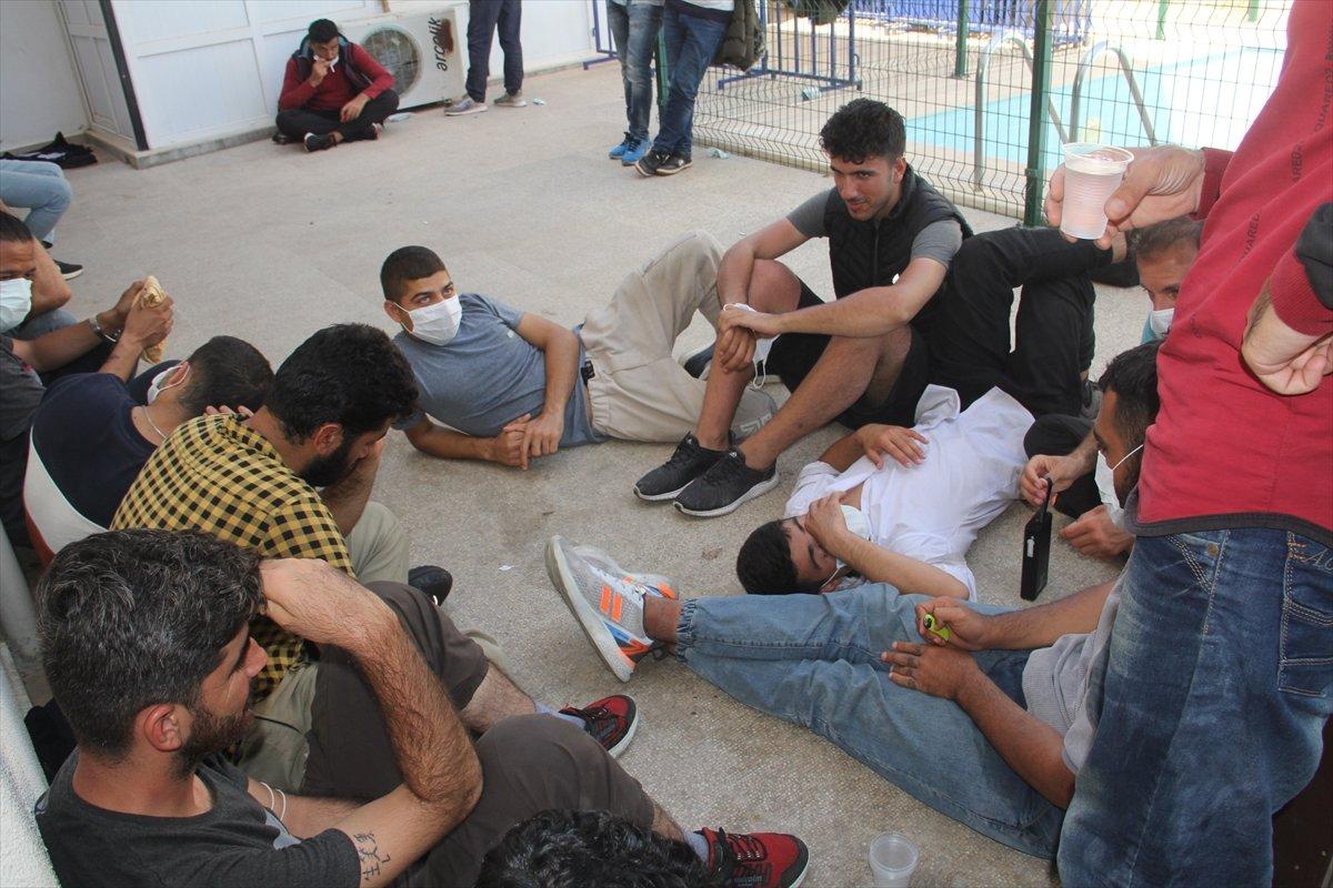 Muğla da 48 düzensiz göçmen yakalandı #1