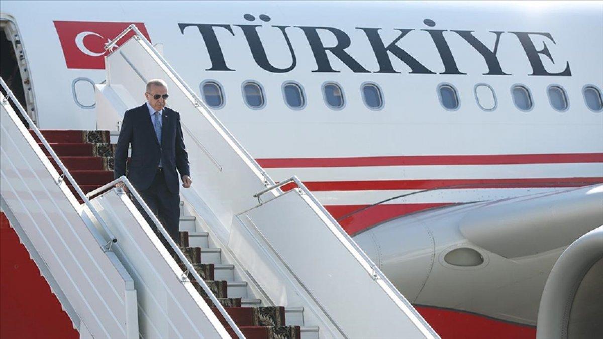 Cumhurbaşkanı Erdoğan, BM Genel Kurulu için ABD ye gidiyor #1