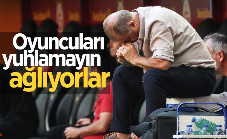 Fatih Terim maç sonu taraftara kızdı