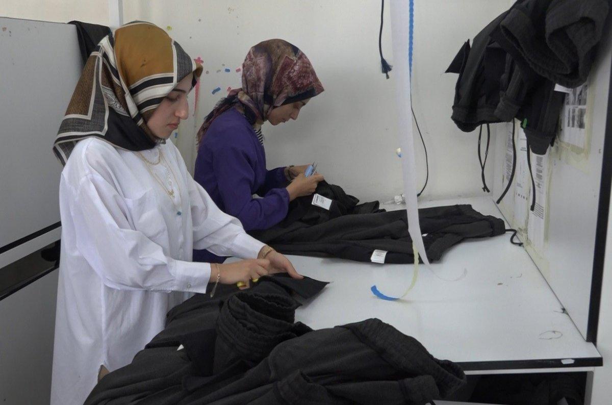 Bingöl'de yatırımlar kadın istihdamını arttırdı #7