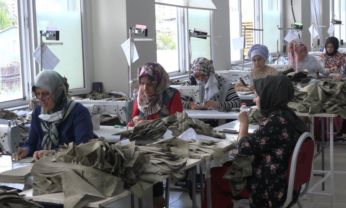 Bingöl'de yatırımlar kadın istihdamını arttırdı #1