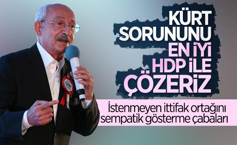 Kemal Kılıçdaroğlu: Kürt sorununu HDP ile çözeriz