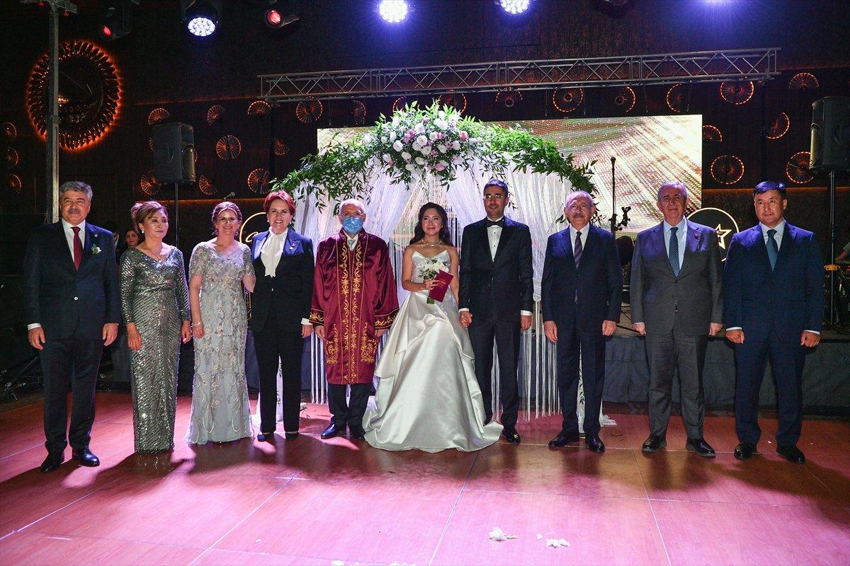 Kemal Kılıçdaroğlu, Ankara da düğün törenine katıldı #7