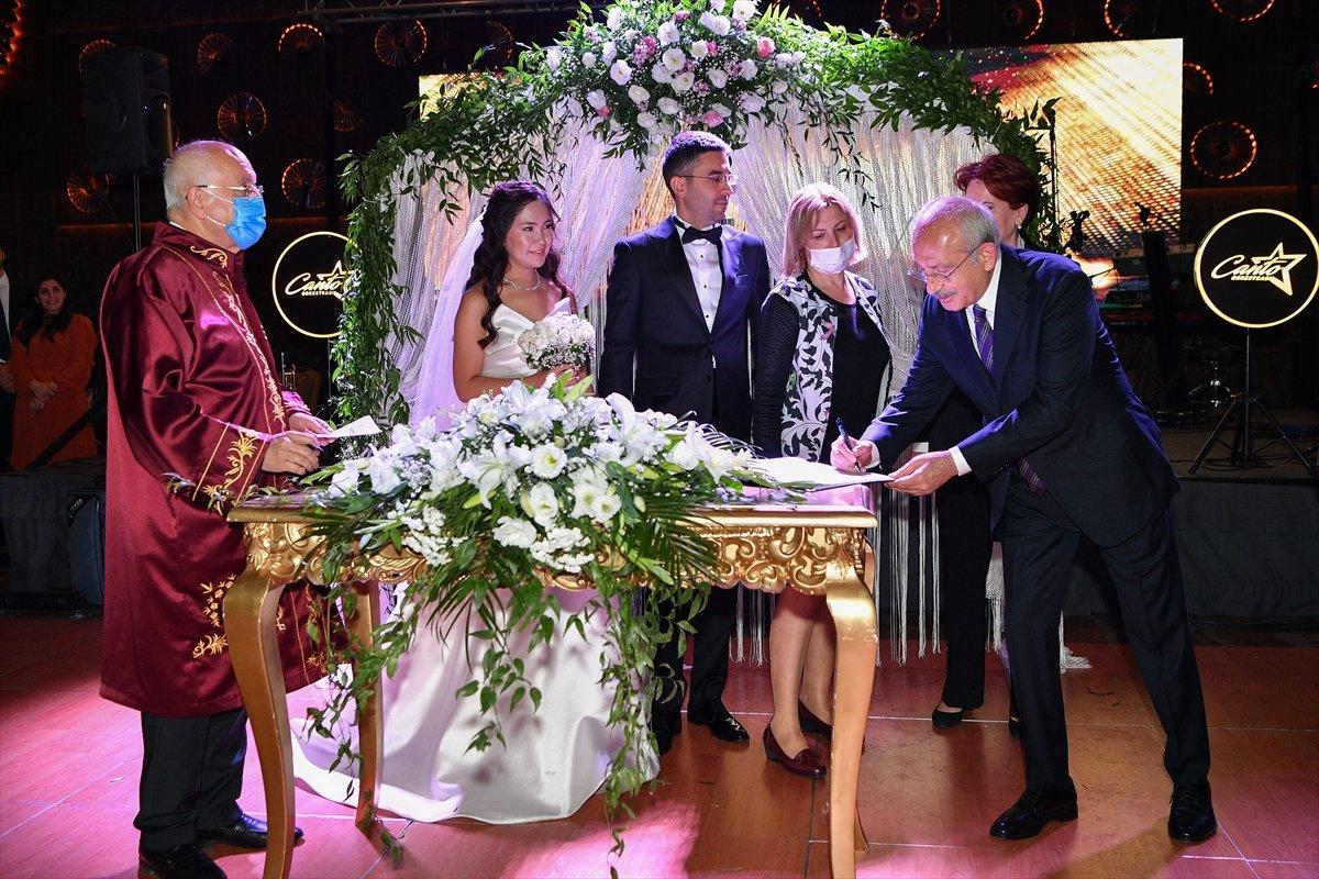Kemal Kılıçdaroğlu, Ankara da düğün törenine katıldı #4
