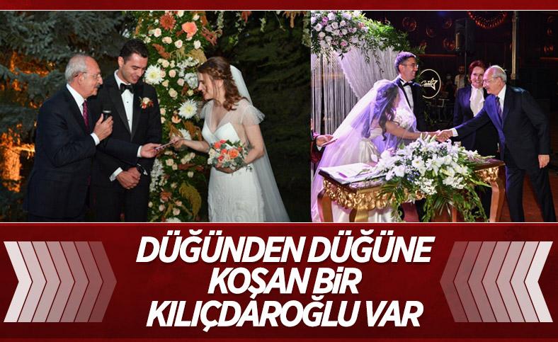 Kemal Kılıçdaroğlu, Ankara'da düğün törenine katıldı