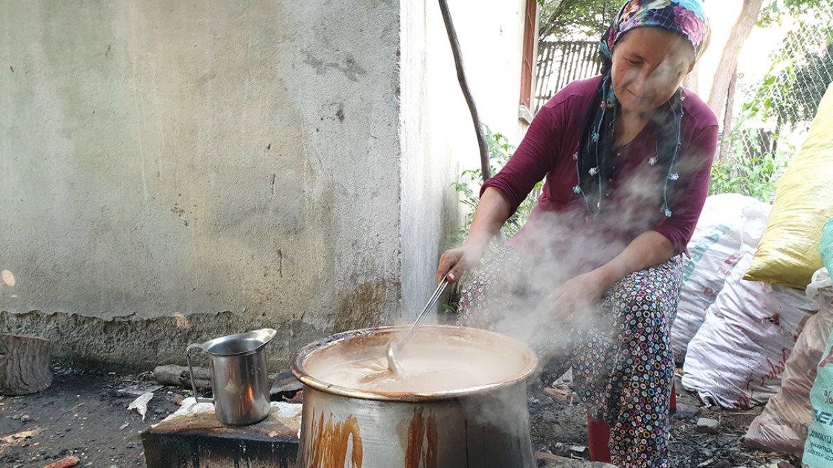Çukurovalı kadınların geleneksel nar ekşisi mesaisi başladı #2