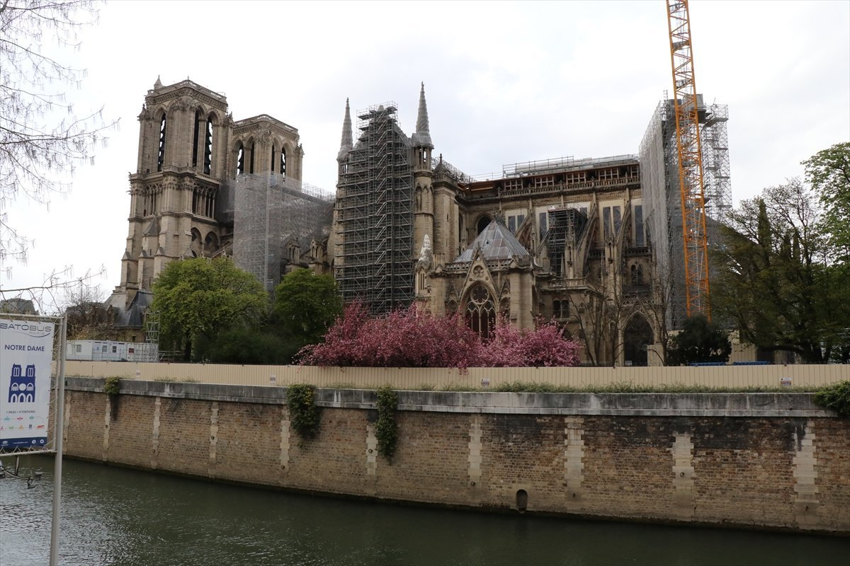 Notre Dame Katedrali, 2024 te açılacak #3