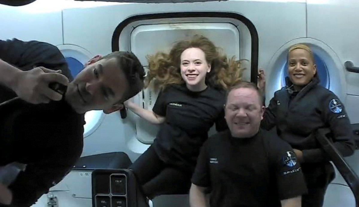 El viaje espacial de 3 días de los 4 tripulantes de SpaceX sin astronautas ha terminado # 4