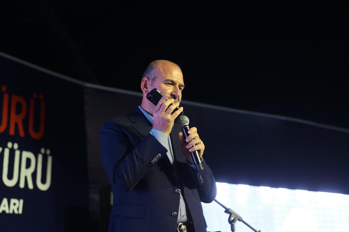 Edirne de gençler  Reis i ara  sloganı atınca, Süleyman Soylu telefon açtı #2