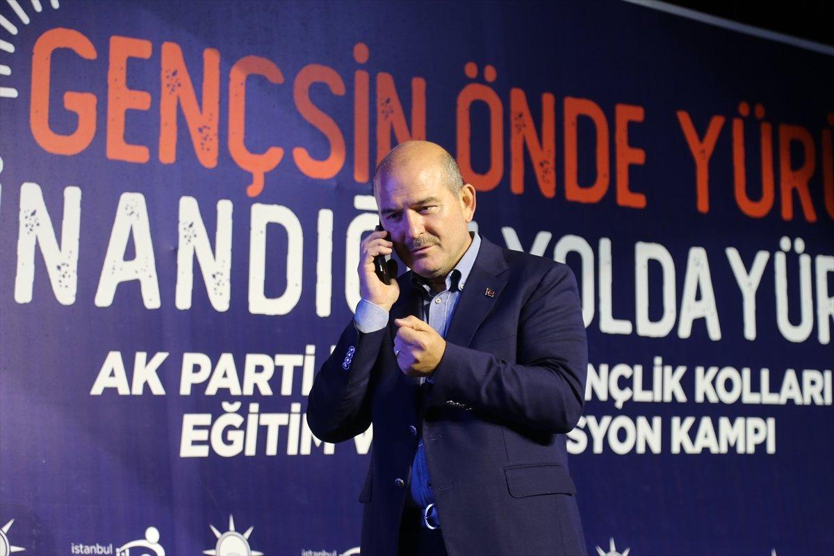 Edirne de gençler  Reis i ara  sloganı atınca, Süleyman Soylu telefon açtı #1