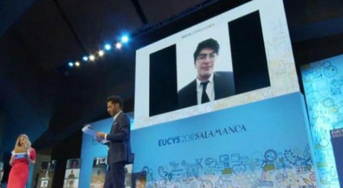 AB Genç Bilim İnsanları Yarışması nda Türkiye birinci oldu #1